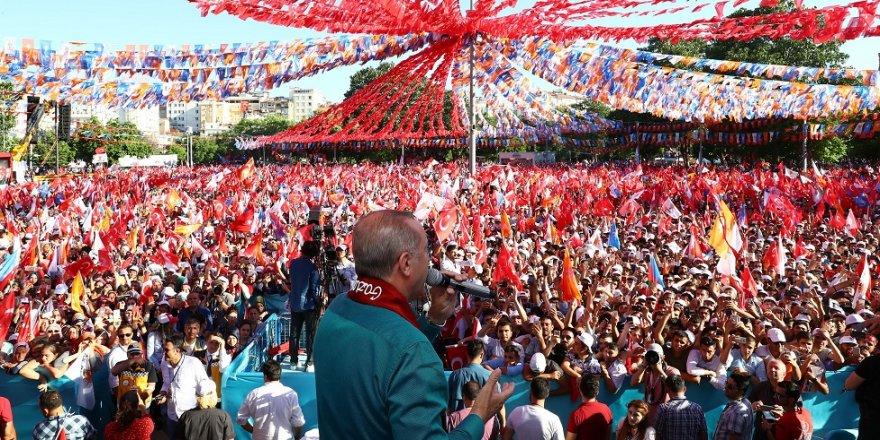 Erdoğan'a rekor karşılama