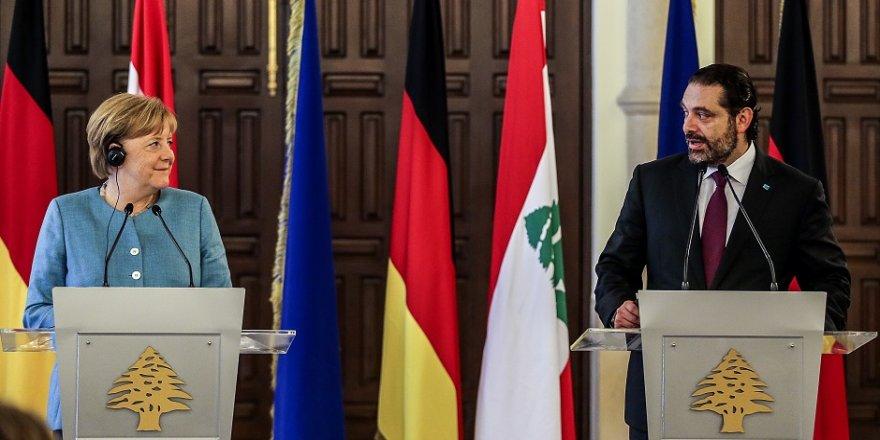 Merkel, Hariri ile görüştü
