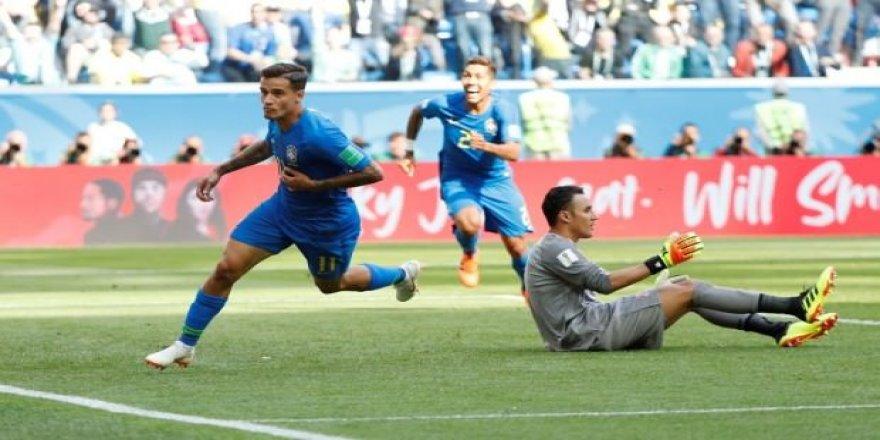 Brezilya: 2 - Kosta Rika: 0