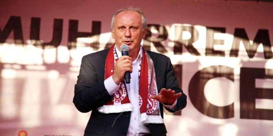 9 siyasi parti seçime saatler kala Muharrem İnce'yi destekleme kararı aldı
