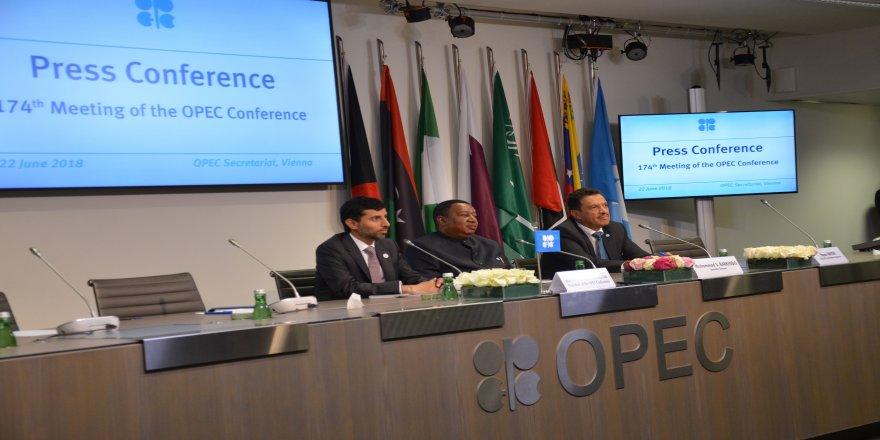 OPEC'in 174'üncü olağan toplantısı sona erdi