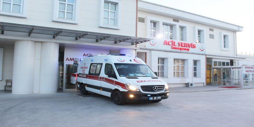 Kamyonetin çarptığı çocuk ağır yaralandı