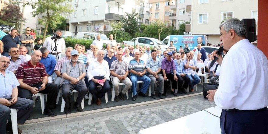 Başkan Karaosmanoğu, vatandaşlarla buluştu