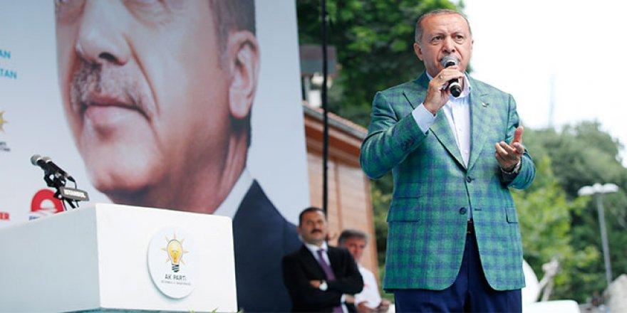 Cumhurbaşkanı Erdoğan: 'İstanbul'da 5 milyon, dedi, emniyetten rakam aldım 280 bin'