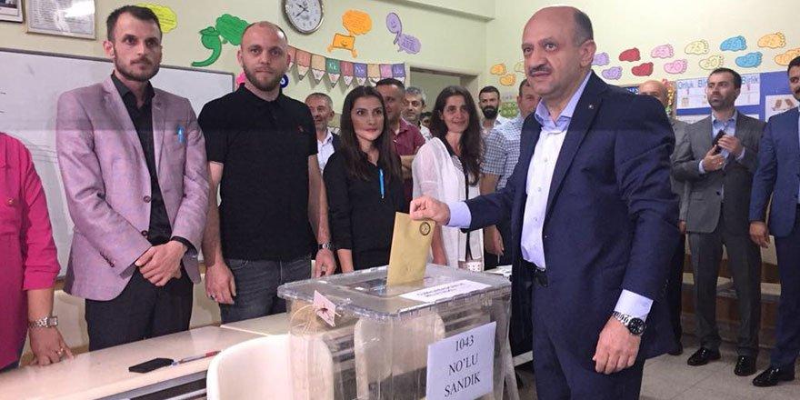 Işık'ın sandığında Erdoğan çıktı