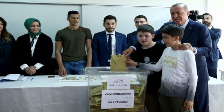 Erdoğan'a sandıktan 188 oy çıktı