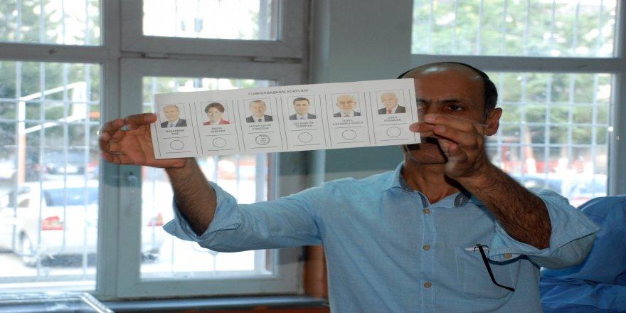 2 köyün tamamı Cumhurbaşkanı Erdoğan'a oy verdi