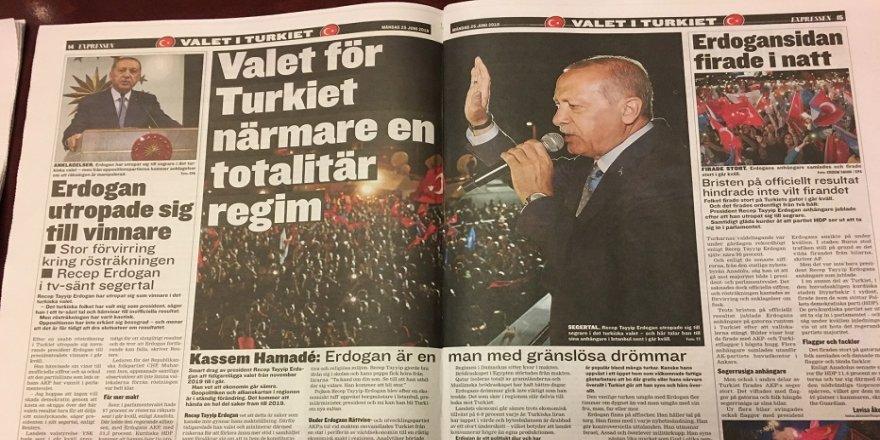 İsveç'te Erdoğan'ın zaferi konuşuldu