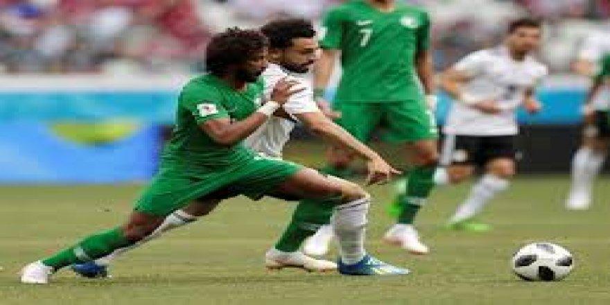 Suudi Arabistan doksan artıda maçı aldı
