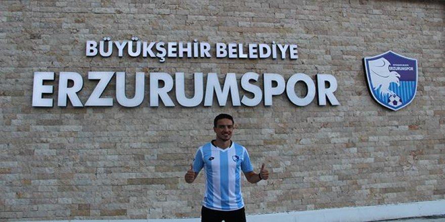Erzurumspor'un ilk transferi!