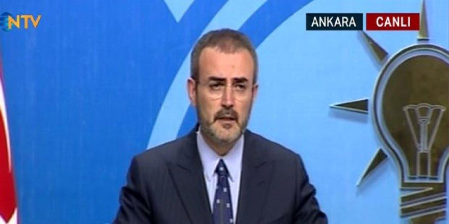 AK Parti Sözcüsü Ünal'dan Soylu açıklaması