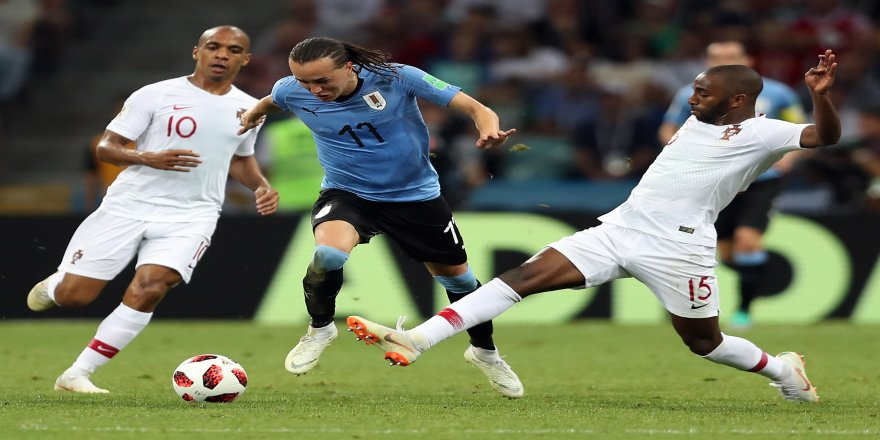 Uruguay, 2018 Dünya Kupası'nda turladı