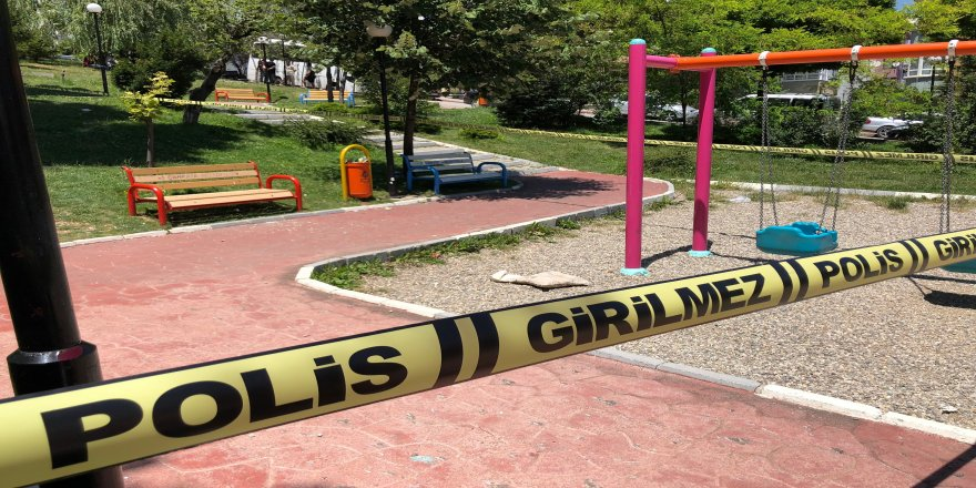 Çocuk parkında silahlı saldırı