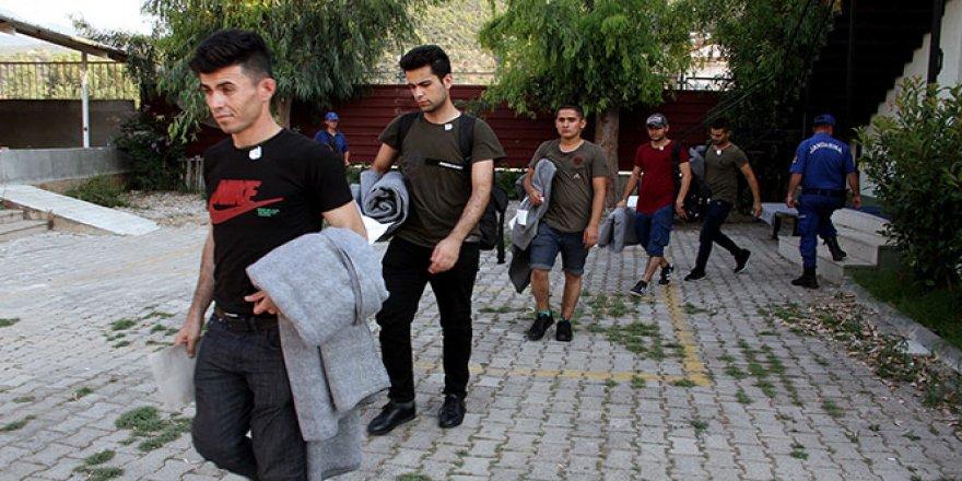 91 kaçak göçmen yakalandı