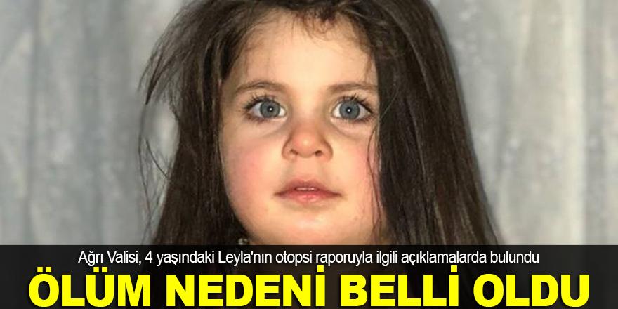 Küçük Leyla açlıktan ölmüş