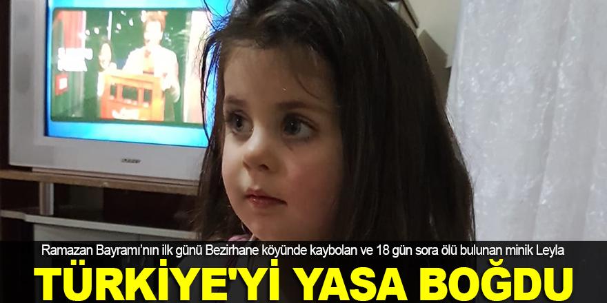 Leyla Türkiye'yi yasa boğdu