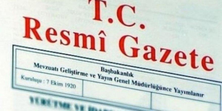 Danıştay üyeliklerine atama Resmi Gazete'de