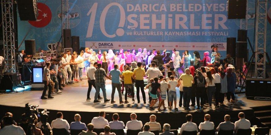 Amasyalılar Darıca'da gönüllerince eğlendi