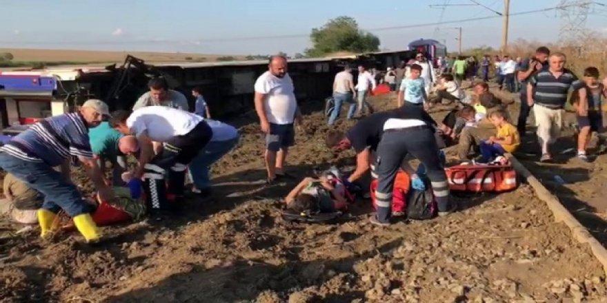 Ulaştırma Bakanlığından tren kazası hakkında açıklama