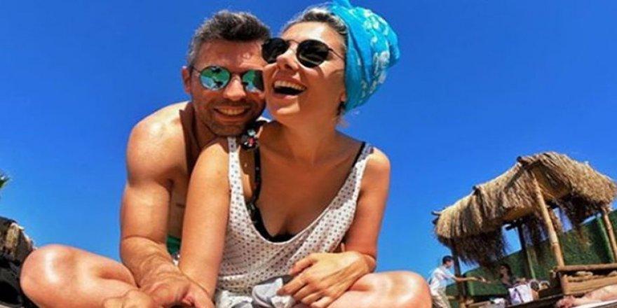 Burcu Binici, sevgilisiyle tatilde