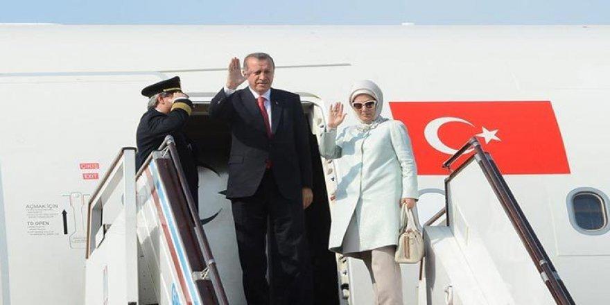 Erdoğan, Brüksel'e gitti