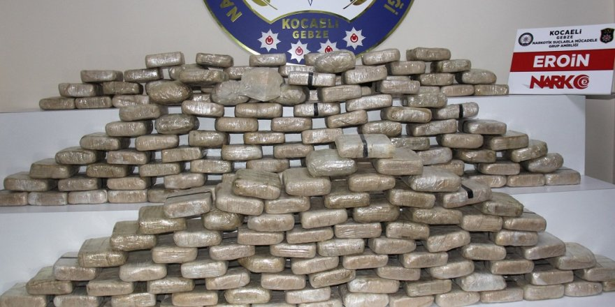 3 ton uyuşturucu ele geçirildi