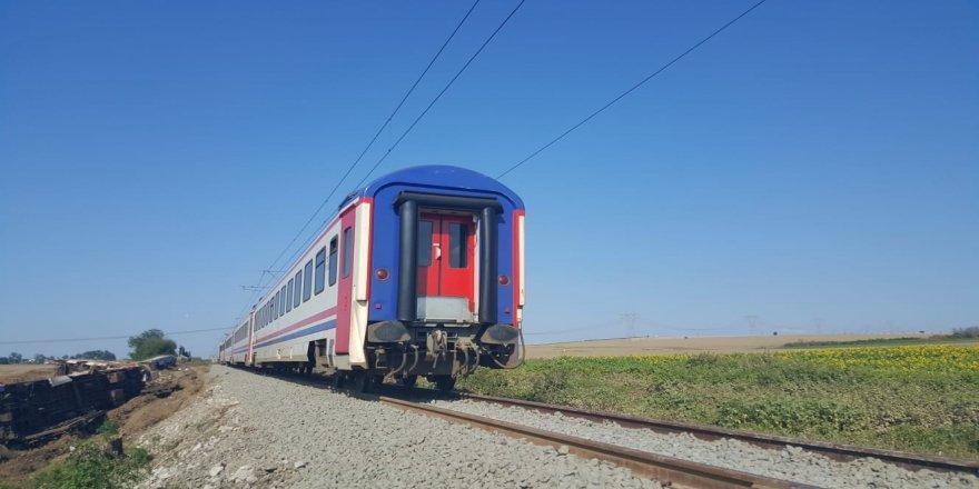 Tren faciasının yaşandığı hatta yolcu seferleri başladı