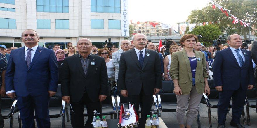 Kılıçdaroğlu, Kartal'da Srebrenitsa katliamı anma törenine katıldı