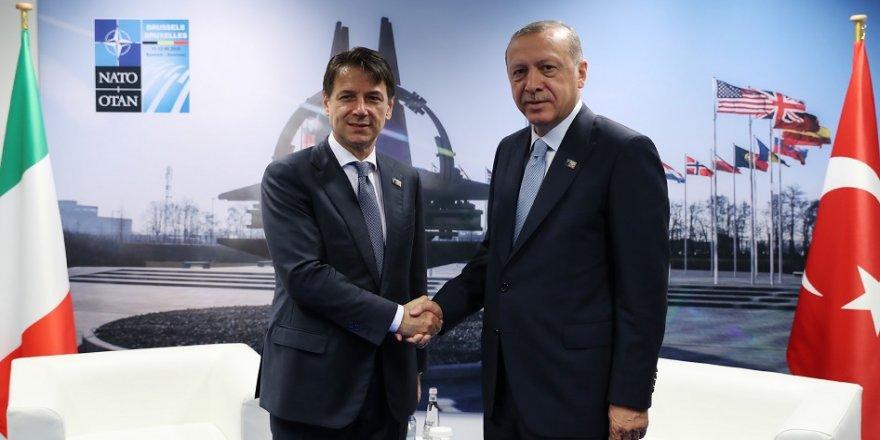 Erdoğan, İtalya Başbakanı ile görüştü