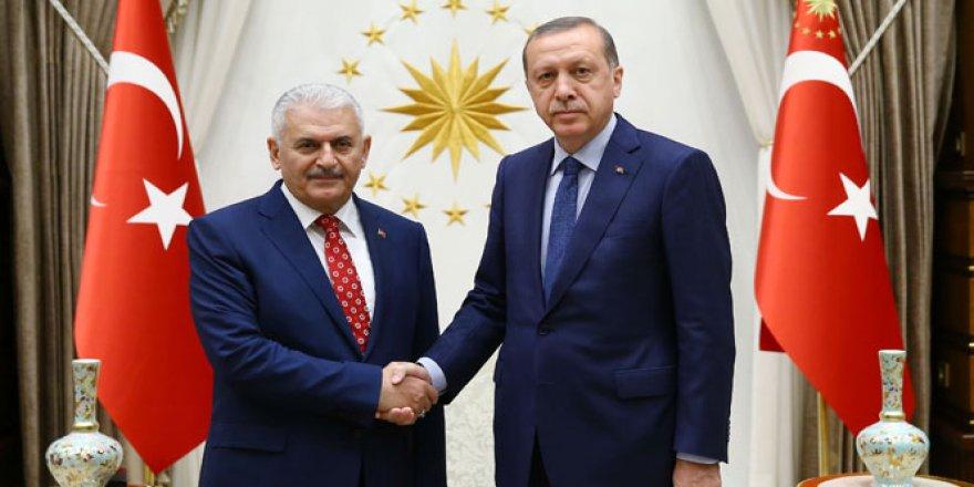Erdoğan'dan Yıldırım'a tebrik telefonu