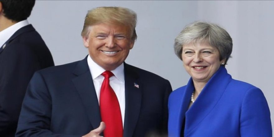 Trump'tan May'e Brexit Eleştirisi