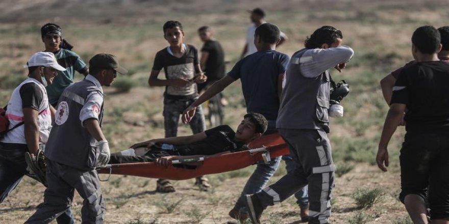 İsrail askerleri yine saldırdı: 1 ölü, 220 yaralı