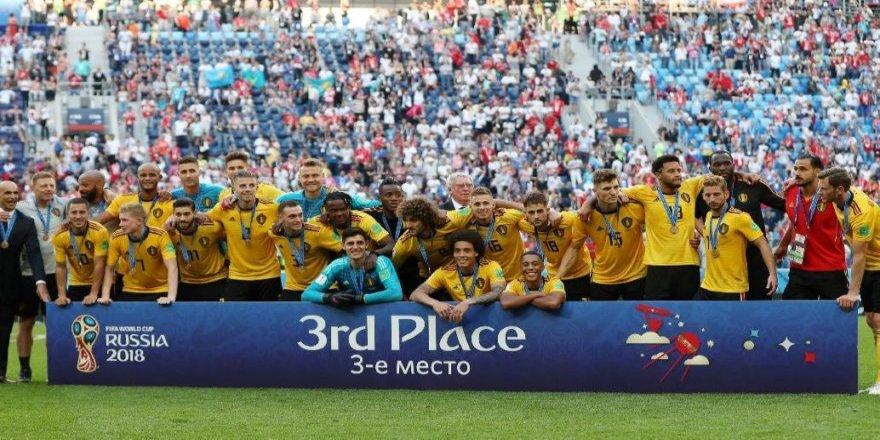 Belçika dünya üçüncüsü oldu