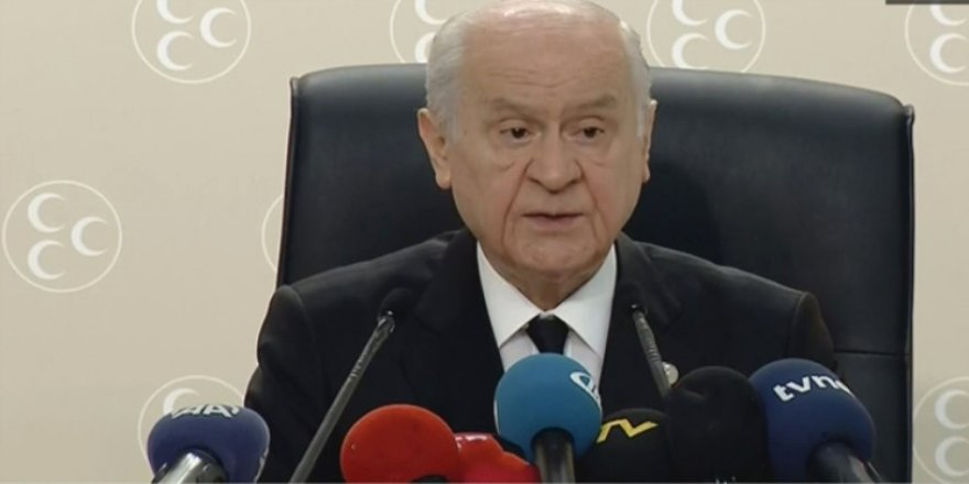 Bahçeli, MHP'nin yeni sistemdeki ilk icraatını açıkladı