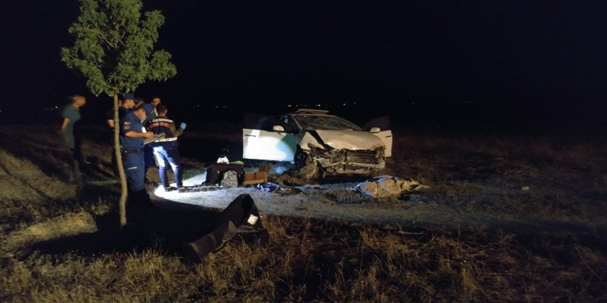 Otomobil şarampole yuvarlandı: 1 ölü