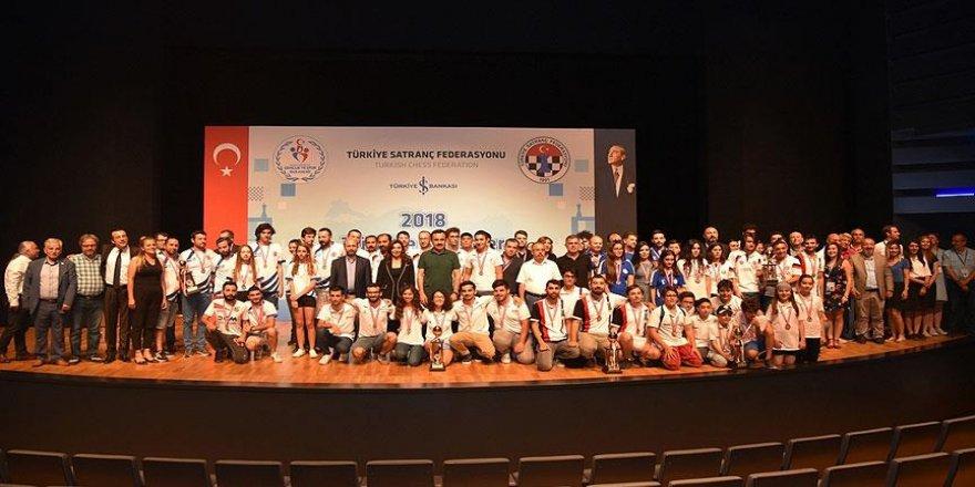 Türkiye Kulüpler Satranç Şampiyonası tamamlandı