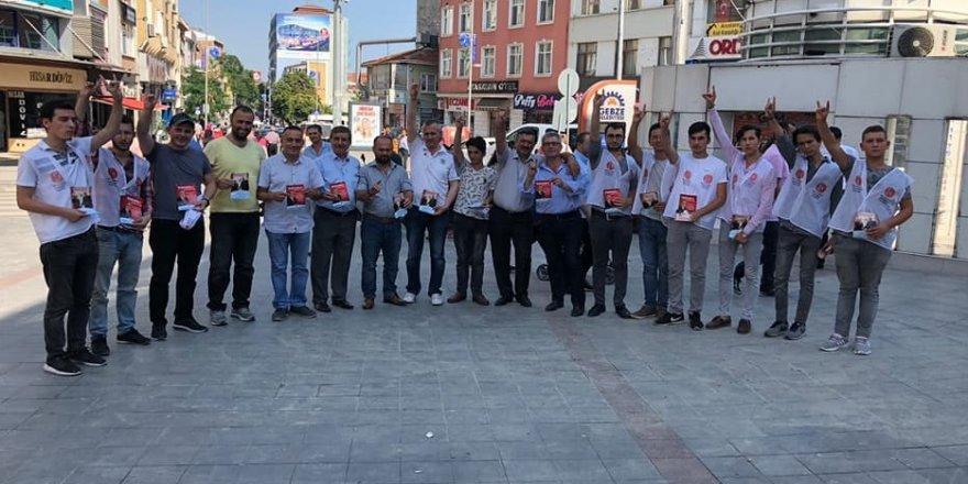 MHP Gebze'den 'teşekkür broşürü'