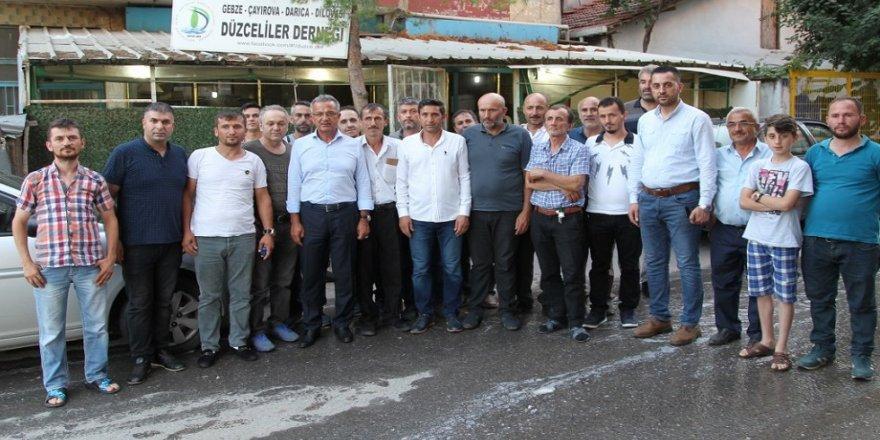 Başkan Köşker, Gaziler'de
