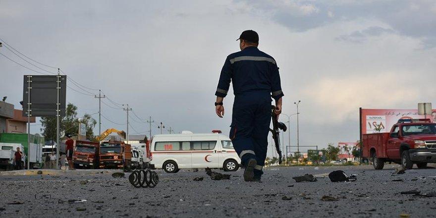 Emniyet güçlerine bombalı saldırı