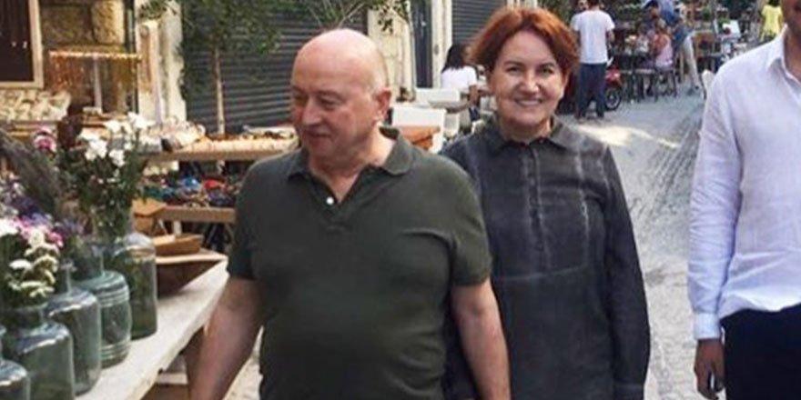 Akşener, Türkkan'ın otelinde tatil yapıyor