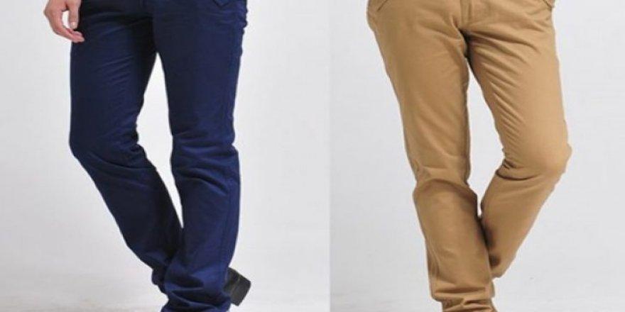 Erkek Kumaş Pantolon Modellerinde Renk Trendi