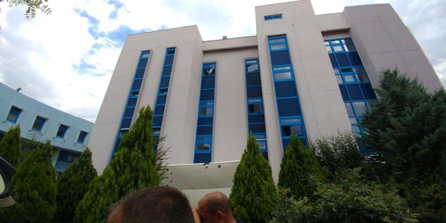 Ankara Üniversitesinde intihar girişimi