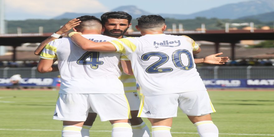 Fenerbahçe'den 3 gollü prova