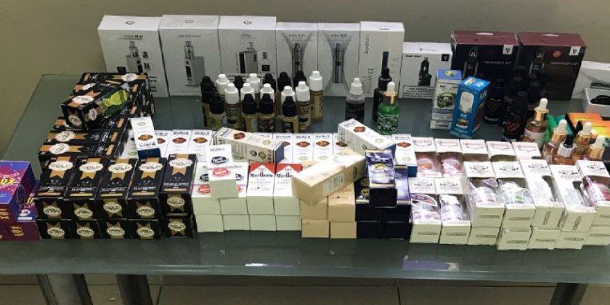 İnternet üzerinden elektronik sigara satan 2 kişi gözaltına alındı