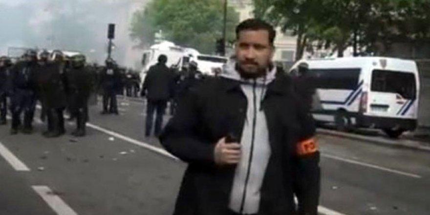 Polis kılığında eylemci dövdü