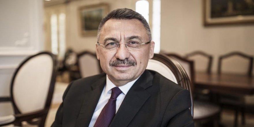 Cumhurbaşkanı Yardımcısı'ndan Filistin açıklaması