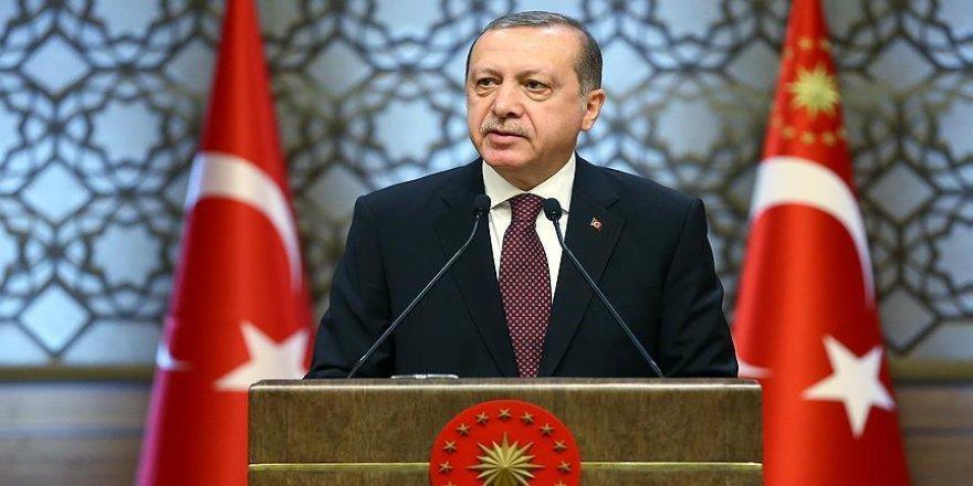 Erdoğan, Kıbrıs Barış Harekatı'nın 44. yıl dönümünü kutladı