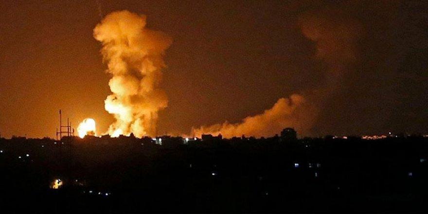 İsrail'den Gazze'ye saldırı: 3 ölü