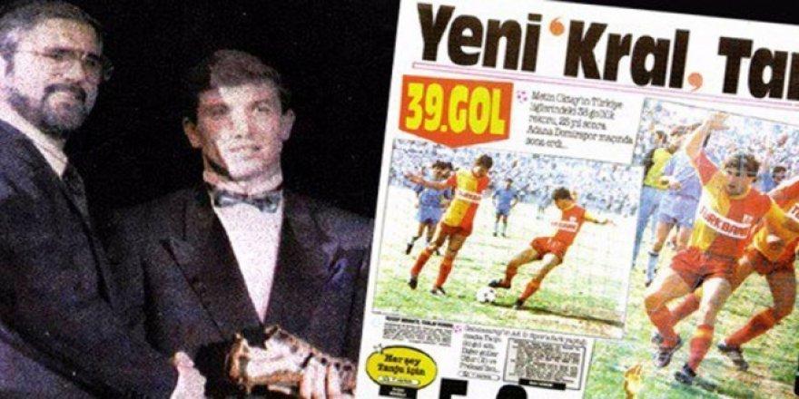 Galatasaray, 'Altın Ayakkabı' ödülünü unutmadı