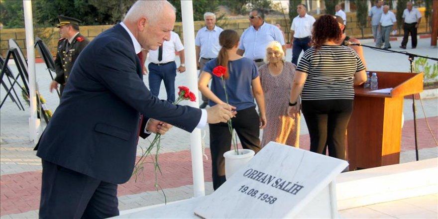 KKTC'de Topçuköy şehitleri anıldı